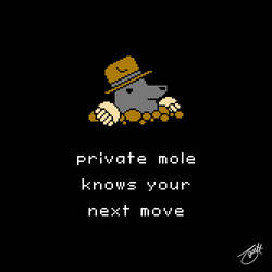 Unlikely Monsters - Private Mole
