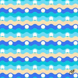 Ocean Pearls Pattern - Shore