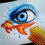 Fishy eyesplash!