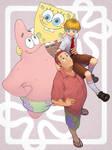 Patrick X SpongeBob