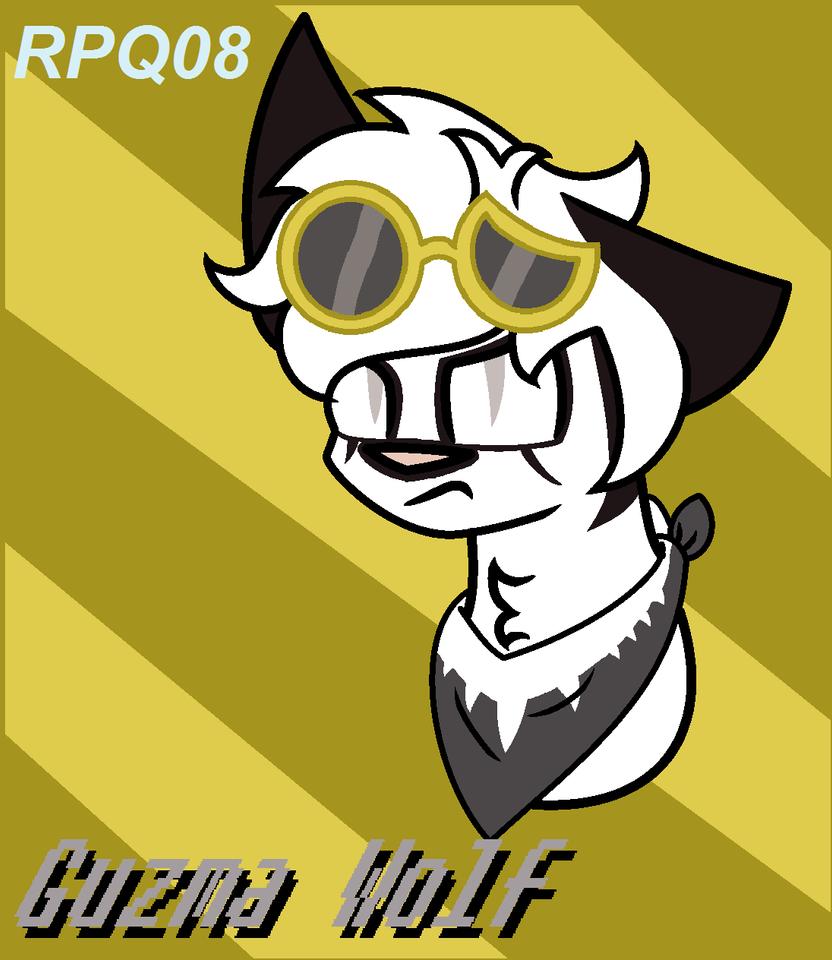 Guzma Wolf -Gift- by RedpandaQueen08