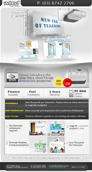 Epson projector infographic