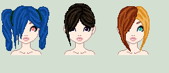 Hairstyle Adoptables 1 CLOSED by Kat-and-Raven-ADOPTS