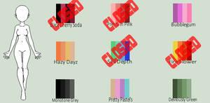 Palette Adoptables (1/9 Open)