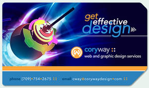 :: CWD Business Card :: by CoryWayDesign
