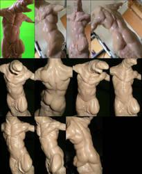 Latest creature sculpt by macdonaldcreations