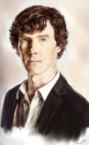 Sherlock portrait by stART06
