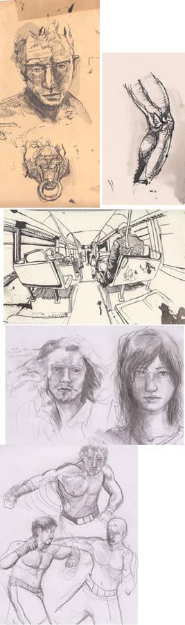 Sketchbook Compilation 5
