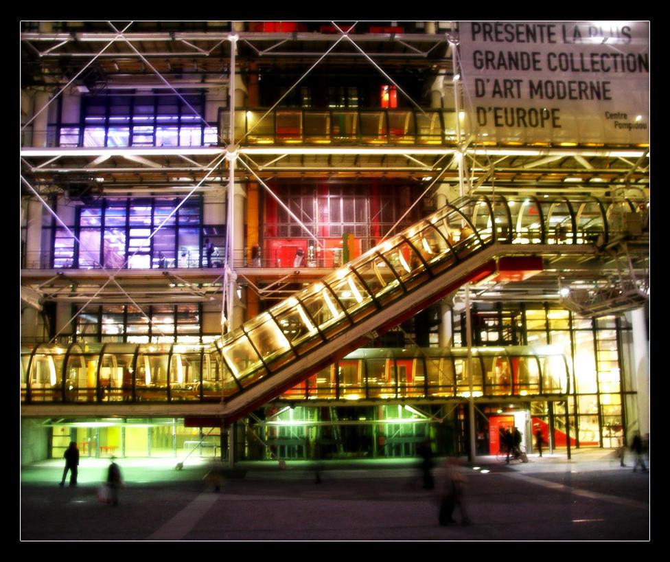 Centre pompidou lk ii by leeluv on deviantart for Art minimal centre pompidou