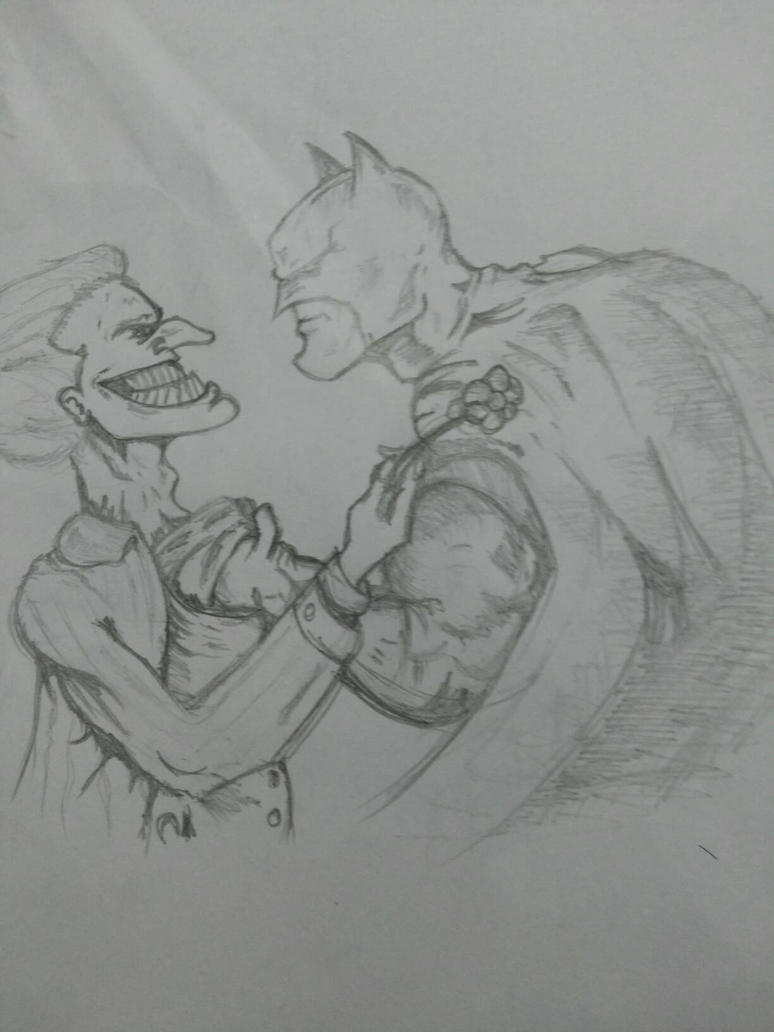 Batman Vs Joker by kev009