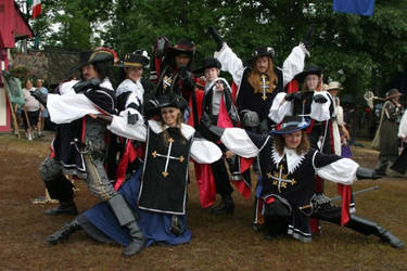Musketeers and Muskettes by CountessLenore