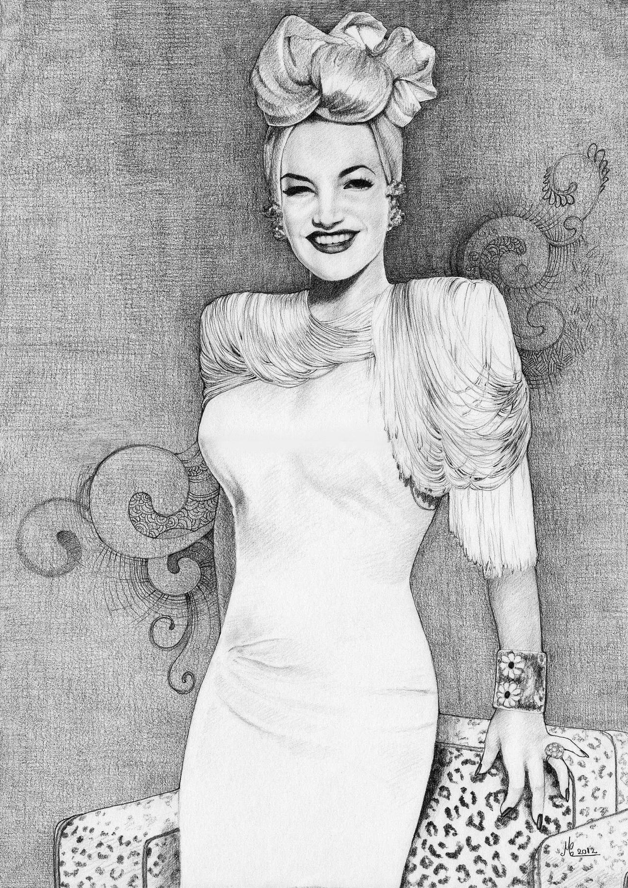 Carmen Miranda. by ChristinaMandy