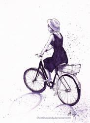 Summer bikeride by ChristinaMandy