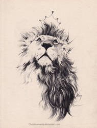 The King by ChristinaMandy
