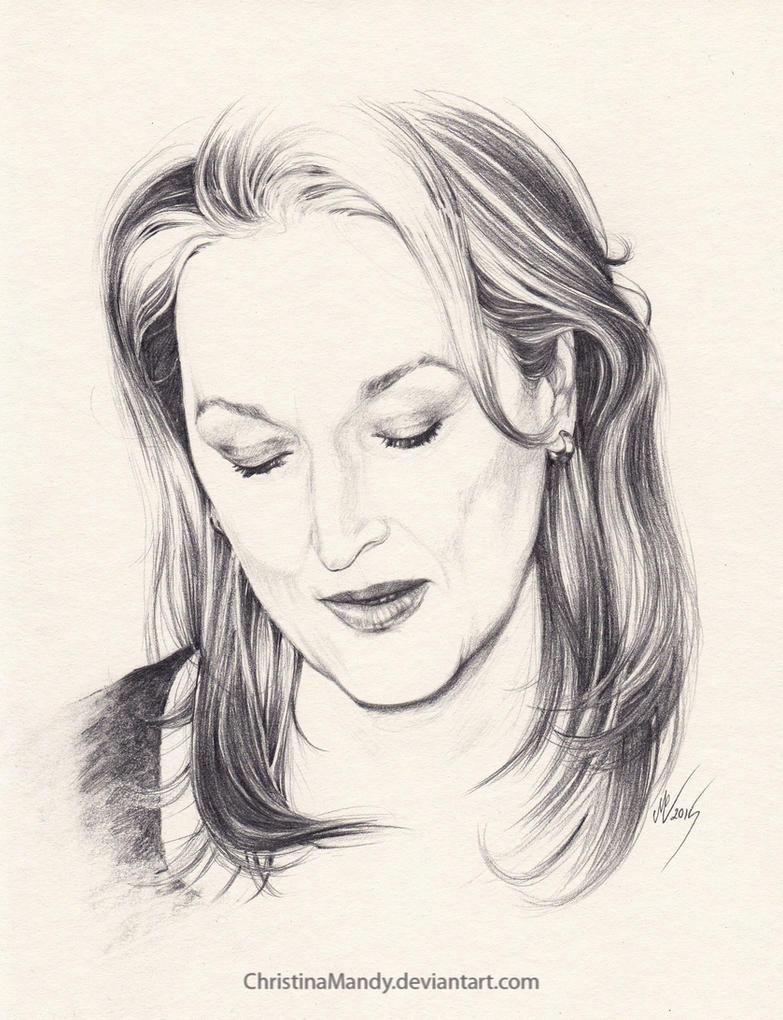 Meryl Streep by ChristinaMandy
