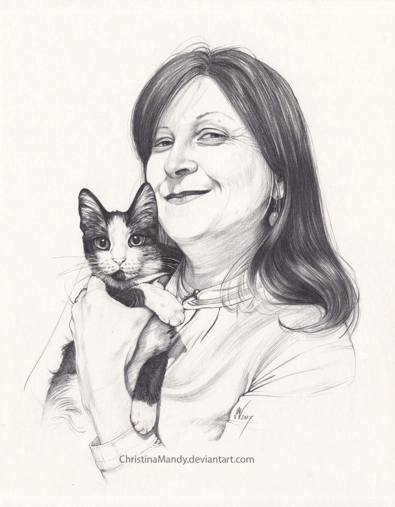 Friends with cats II by ChristinaMandy