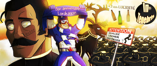 Gift : Lordragon's birthday by Touffe-Touffe