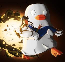 Fanart Gintama : Boom janai, Katsura da !