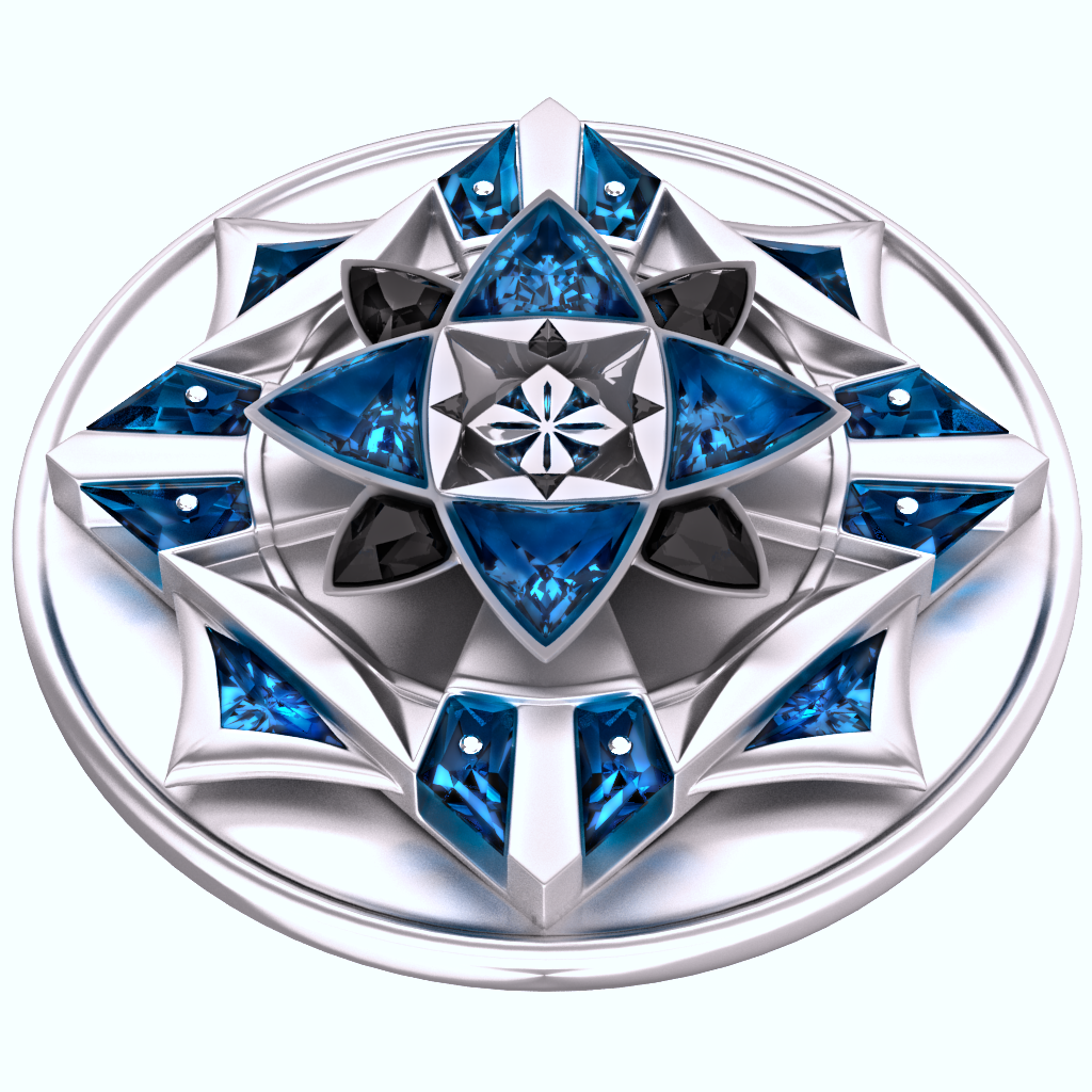 Melian's Heraldic Device by rogertg