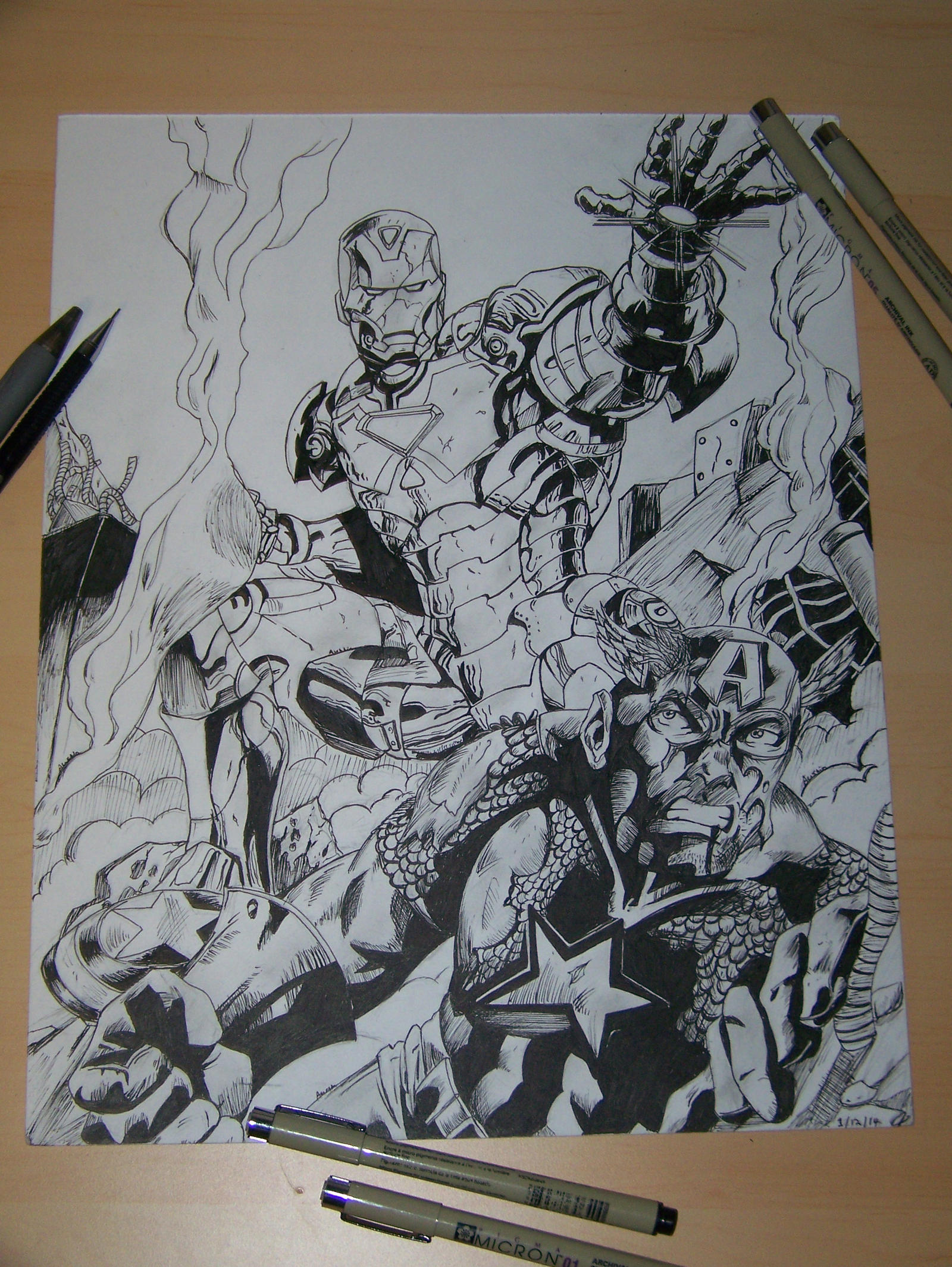 Learn How To Draw Falcon From Captain America Civil War: Marvel Civil War By Partyboy3543 On DeviantArt