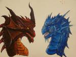 Acrylic Dragon's