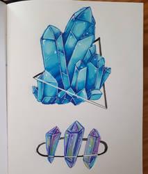 Crystal Doodles