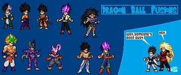 Dragon Ball Fusions - EX Fusion Showcase Part 1 by SpriteYena