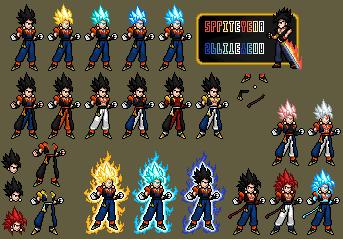 Supreme Fusion Gogito by SpriteYena