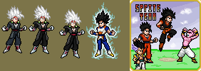 Baby Vegito Black (Revised) by SpriteYena