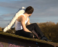 Grunge Angel stock 41 by Random-Acts-Stock