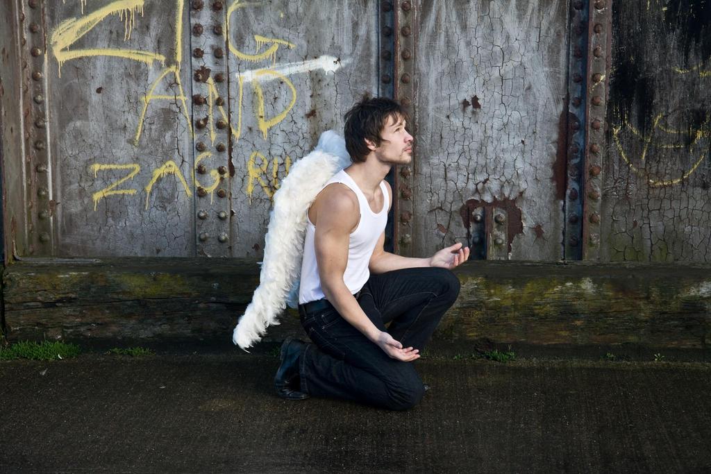 Grunge Angel stock 56
