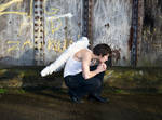 Grunge Angel stock 62