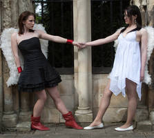 Lesbian Angels stock 2 by Random-Acts-Stock