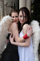 Lesbian Angels stock 6 by Random-Acts-Stock