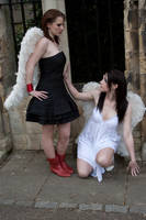 Lesbian Angels stock 10 by Random-Acts-Stock