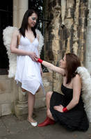 Lesbian Angels stock 30 by Random-Acts-Stock