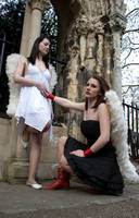 Lesbian Angels stock 31 by Random-Acts-Stock