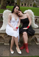 Lesbian Angels stock 43 by Random-Acts-Stock