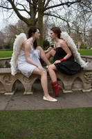 Lesbian Angels stock 52 by Random-Acts-Stock