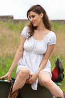 Red neck couple stock 22 by Random-Acts-Stock