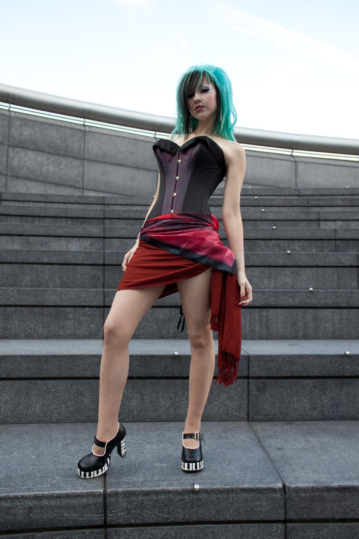 Londinium corsets stock 61 by Random-Acts-Stock