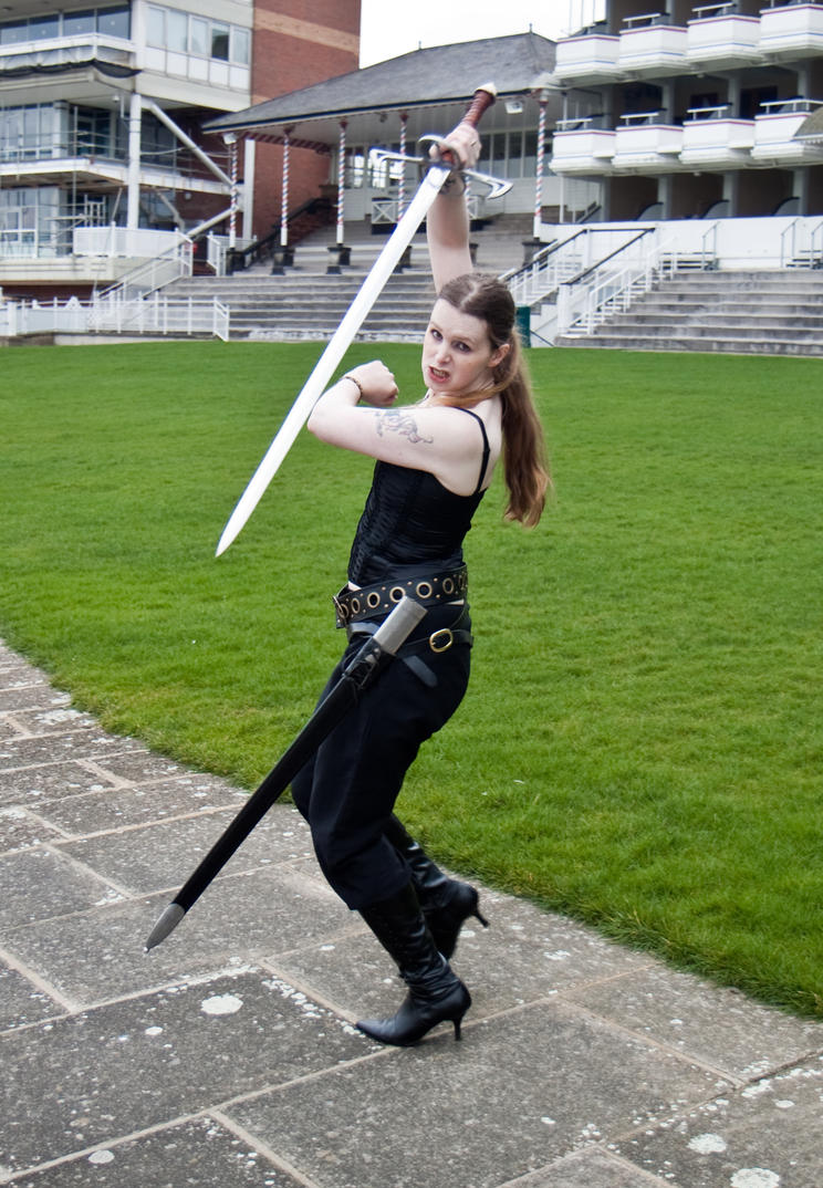Sword fight reference stock 26 by Random-Acts-Stock on