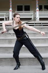 Sword pose stock 15