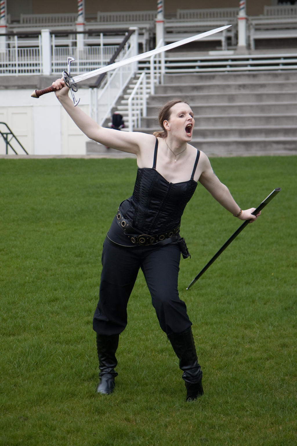 Sword pose stock 15 by Random-Acts-Stock on DeviantArt