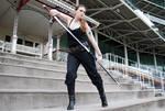 Sword pose stock 44