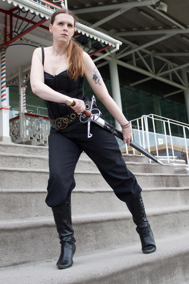 Sword pose stock 45 by Random-Acts-Stock