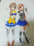 Hikarii and Shoichi by Sliver-Victory
