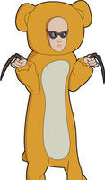 Riddick in a Bear Suit