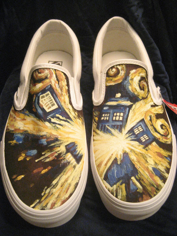 Dr. Who VANS by theartful-dodge
