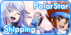 +Stamp Button Polarstarshipping+ by Nagori-Ito